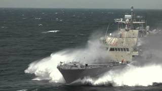 LCS 5 Acceptance Trials high speed highlights