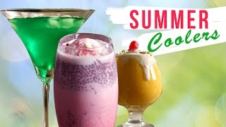 Download Mp3 8 Best Summer Coolers | Quick Easy Cold Drinks | Homemade Refreshing Summer Drin