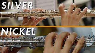 Is Your Flute Made of Silver or Nickel?