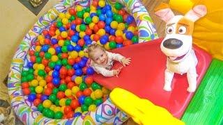 Распаковка игрушек Mattel и Макс Видео для детей Тайная жизнь домашних животных max review
