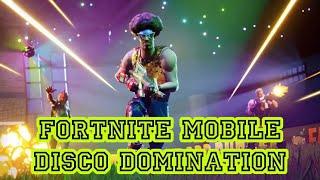 DIAJARIN ANAK SMP MAIN FORTNITE MOBILE I Disco Domination