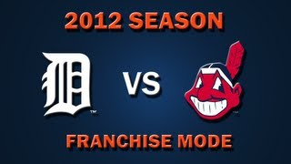 MLB 2K12: Detroit Tigers vs. Cleveland Indians