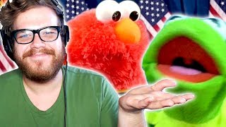Kermit The Frog And Elmo MEME EDITION!