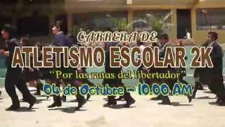 PRIMERA CARRERA ESCOLAR 2K - POR LAS RUTAS DEL LIBERTADOR - DISTRITO DE HUAURA