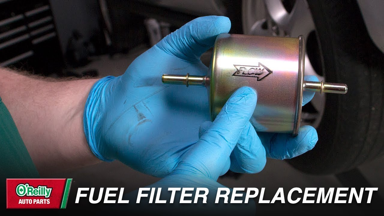 how to replace your vehicle s fuel filter [ 1280 x 720 Pixel ]