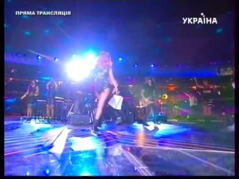 Rihanna Performing ''Please Don't Stop The Music'' (LYRICS) At Shakhtar 75th Anniversary
