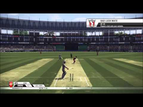 Don Bradman 14 Mini World Cup Game 7 Afghanistan VS West Indies
