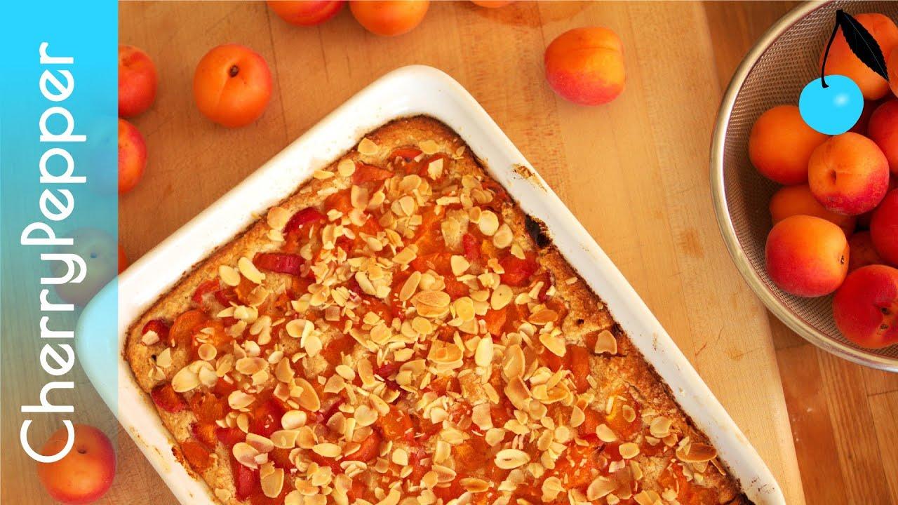 douceur hyper gourmande aux abricots clafoutis cake recette sans gluten cherrypepper. Black Bedroom Furniture Sets. Home Design Ideas