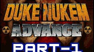 Duke Nukem Advance GAMEPLAY Part-1 Game Boy Advance