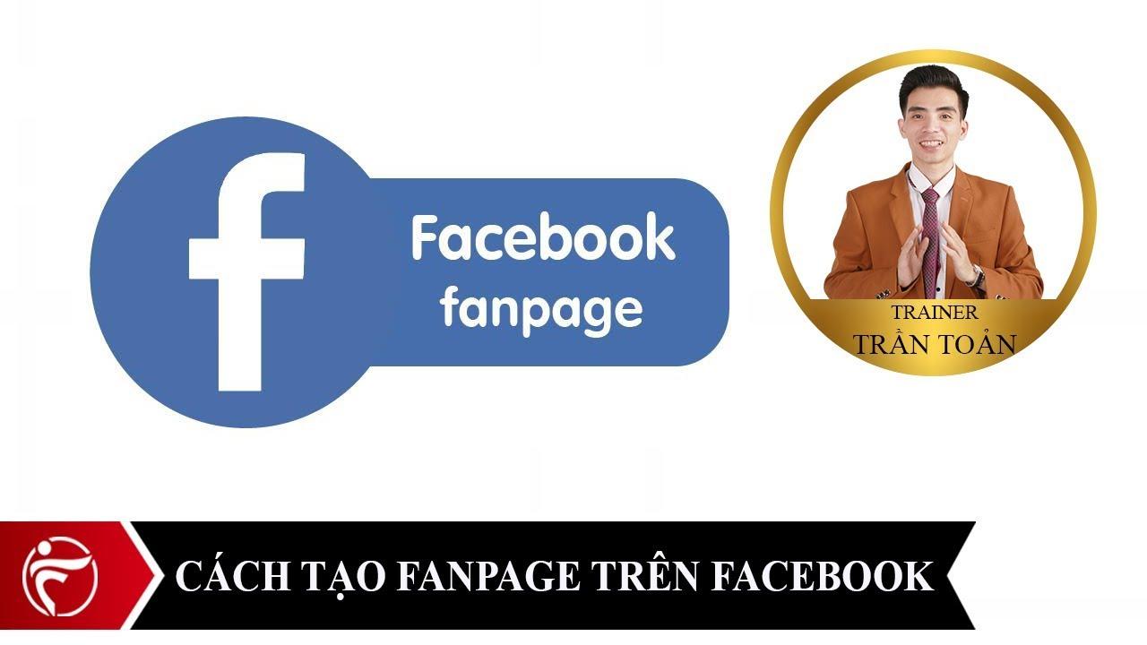 Cách tạo fanpage trên facebook   Tạo một trang fanpage trên facebook