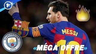 Les chiffres hallucinants du contrat proposé à Lionel Messi par Manchester City | Revue de presse