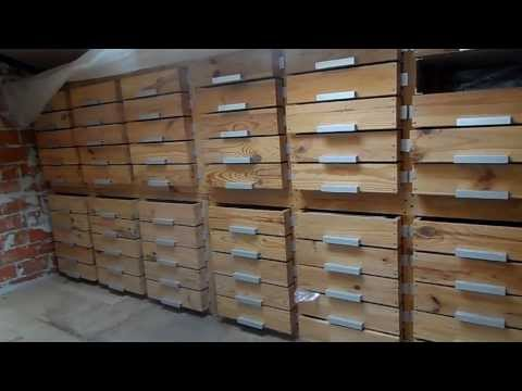 Архив деревянный с выдвижными ящиками своими руками