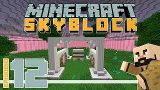 Minecraft Skyblock #12 – ¡Mi propia tienda!