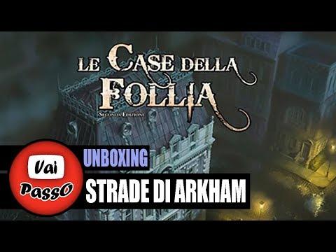 Strade di Arkham (Unboxing) | Giochi da Tavolo | #VaiPasso