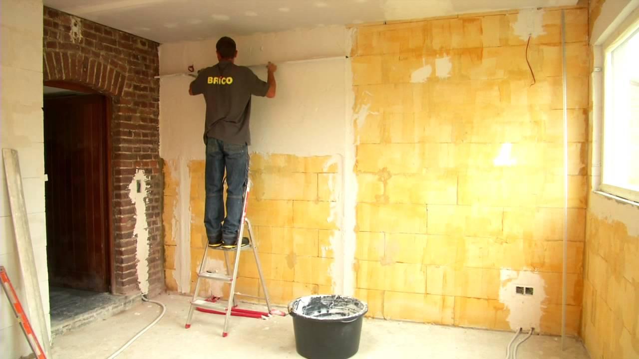 Een muur bepleisteren  YouTube