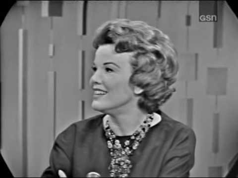 PASSWORD 1963-02-24 Nanette Fabray & Douglas Fairbanks, Jr.