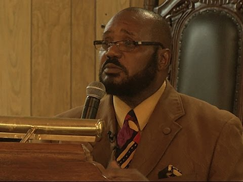 Michael Brown's Uncle Speaks Out in Sermon