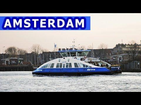 Amsterdam 2: promy, metro, rowery / ferries, metro, bikes