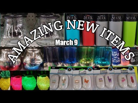 Come With Me To a AMAZING Dollar Tree/ SO MANY NEW ITEMS*WOW!!!!!! 3-9