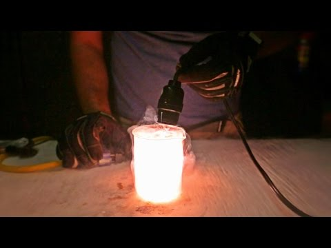 Thumbnail: What Happens If You Put Light Bulb in Liquid Nitrogen