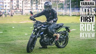 Yamaha MT15 First Ride Review | RWR