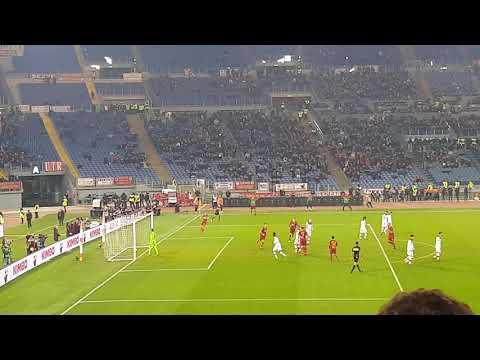 Roma Bologna 2-1 18/2/2019 il rigore di Kolarov daje live