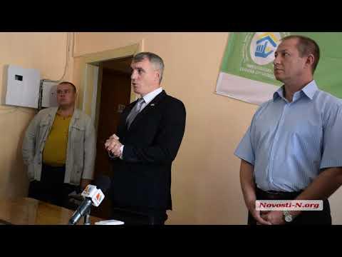 Видео 'Новости-N': Сенкевич представил нового директора департамента ЖКХ