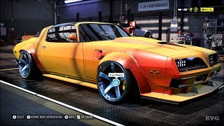 Need for Speed Heat - Pontiac Firebird 1977 - Customize | Tuning Car (PC HD) [1080p60FPS]