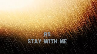 Cover images R5 Stay with me