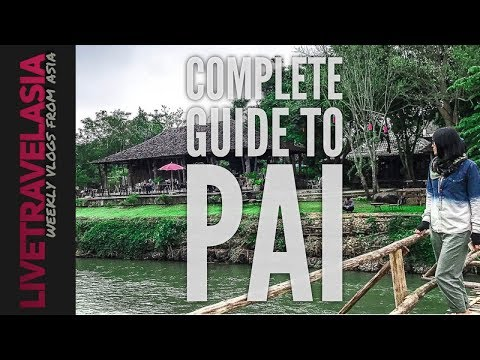 Ultimate Pai Town, Night Market, and Sights Guide