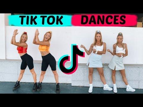 NEW BEST TIK TOK DANCE TRENDS!   The Rybka Twins!