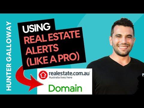 RealEstate.com.au & Domain Alerts