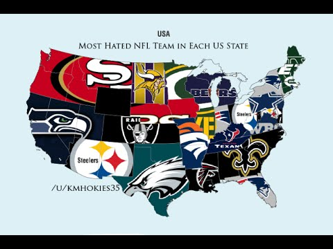 Top 10 Most Hated NFL Teams YouTube
