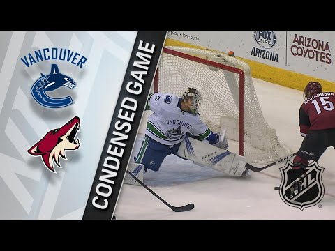 02/25/18 Condensed Game: Canucks @ Coyotes