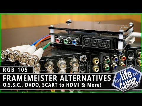 RGB105 :: Framemeister Alternatives (Featuring the OSSC) - MY LIFE IN GAMING