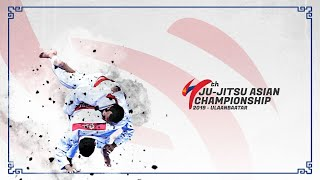 LIVE : Asian Ju-Jitsu Championship 2019 Day  3  (19/7/19)