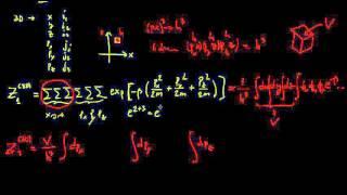 4.- Función de Partición de un Gas Ideal (3D)
