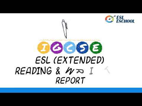 IGCSE ESL Exercise 6 Report Extended Paper
