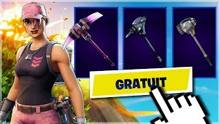 VOICI HOW DÉBLOQUER 9 PIOCHES FREE - SKINS on Fortnite!