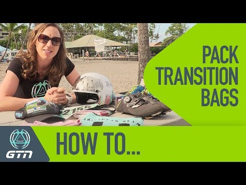 How To Pack Your Triathlon Transition Bags | Be Race Day Ready
