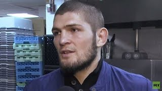 Khabib is absolutely ready to fight Floyd Mayweather next / Interview