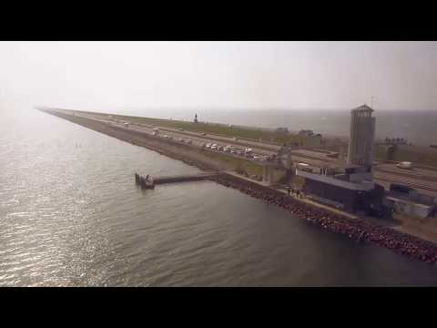 The new Afsluitdijk, the largest pumping station in Europe