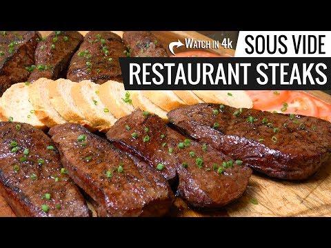 Sous Vide RESTAURANT STEAKS Experiment - Restaurant Steak Sous Vide