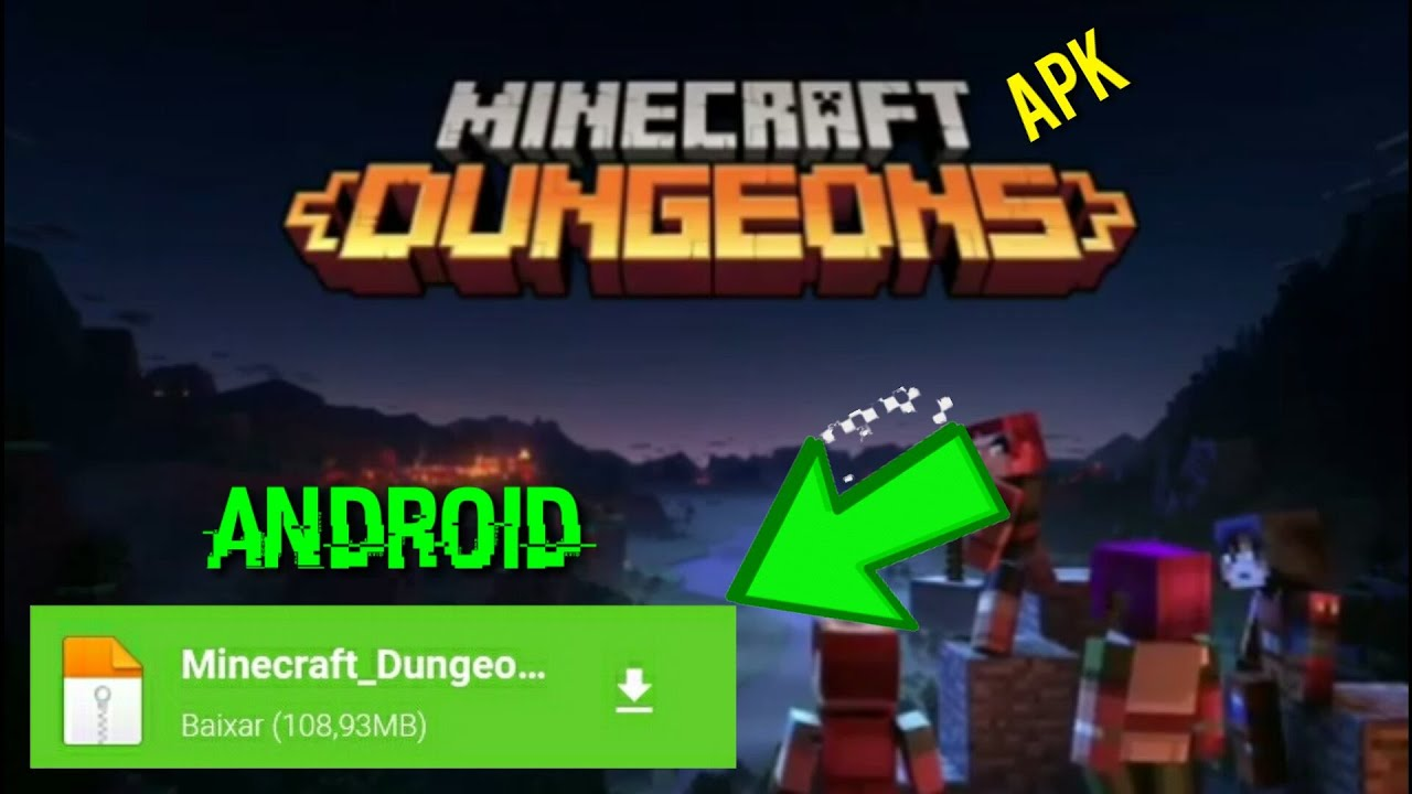 DOWNLOAD MINECRAFT DUNGEOS APK MEDIAFIRE/ANDROID