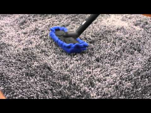 how to clean a shag carpet with a steam cleaner youtube. Black Bedroom Furniture Sets. Home Design Ideas