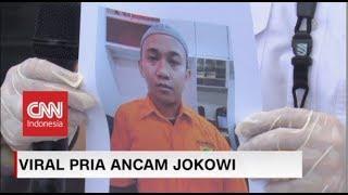 Kronologis Penangkapan HS Pria Pengancam Jokowi
