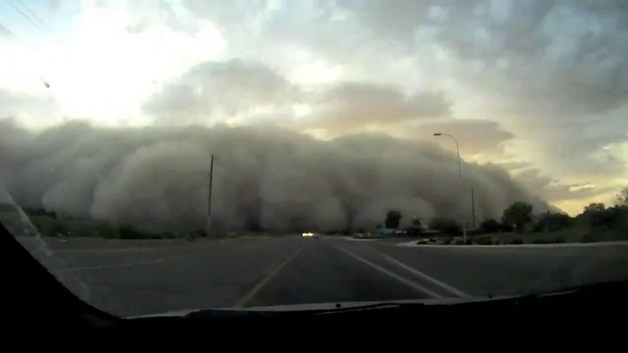 Песчаные бури в оаэ