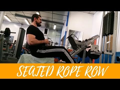 SEATED ROPE CABLE ROW | HOW-TO SERIES | EPISODE 30 HELLRAISER FITNESS
