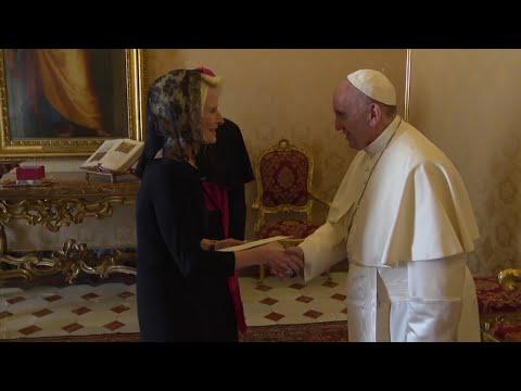 New US Vatican Ambassador Meets Pope Francis