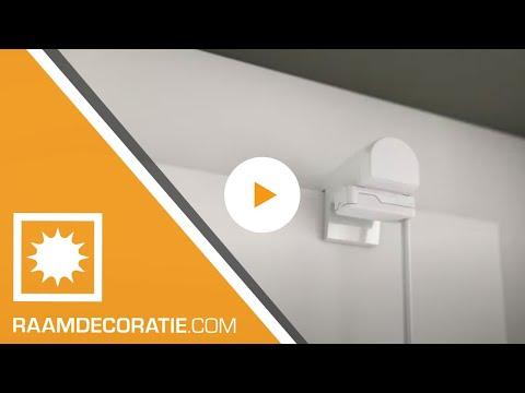 Gordijn In Kozijn : Montage video plissegordijnen zijgeleiding klemsteunen youtube